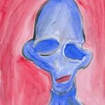 Blue Alien